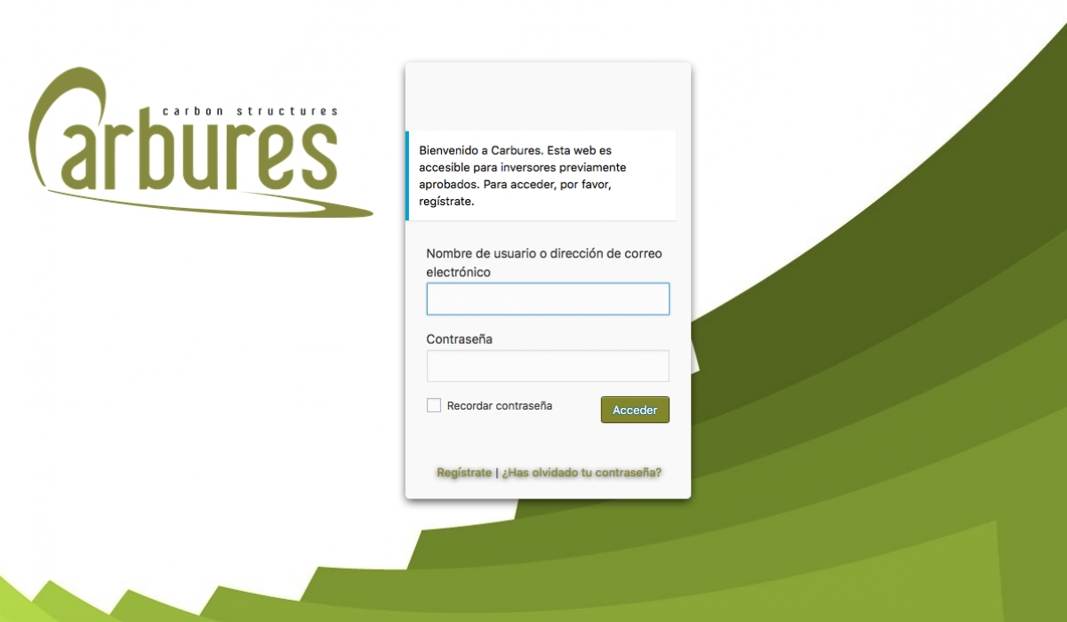 Carbures opens a private area for investors