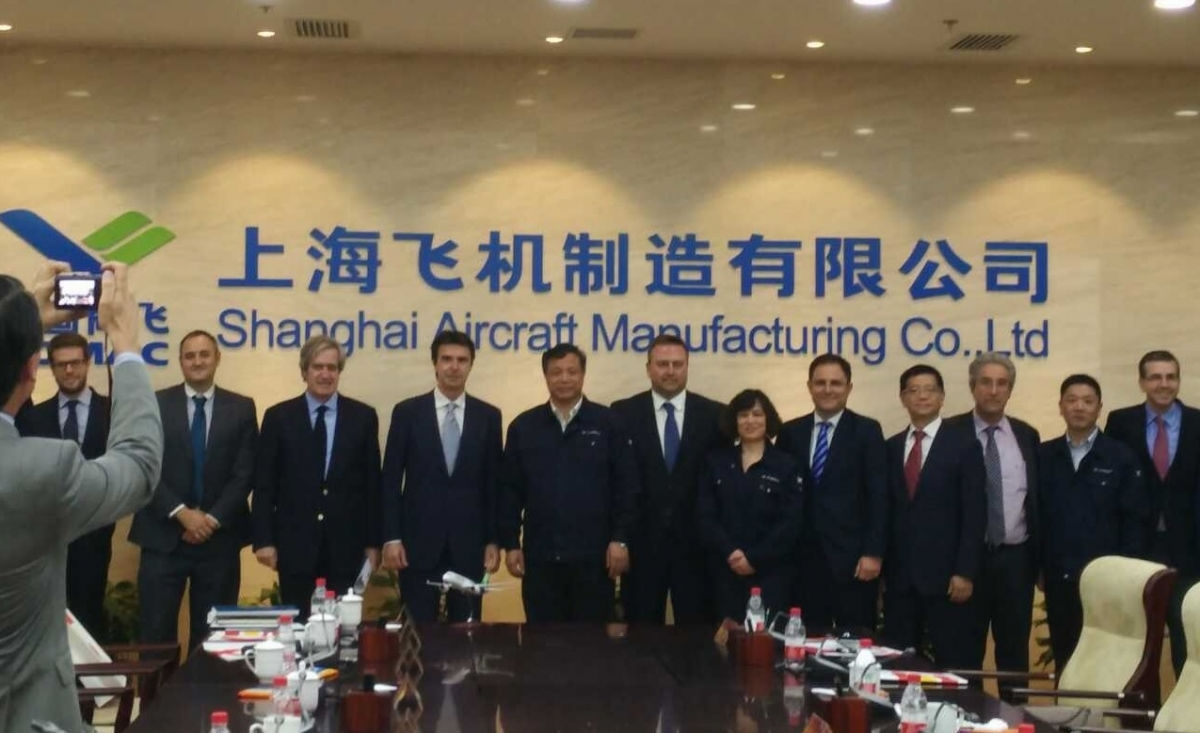 The Minister of Industry supports Carbures in China