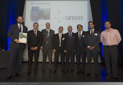 Carbures, awarded by Airbus