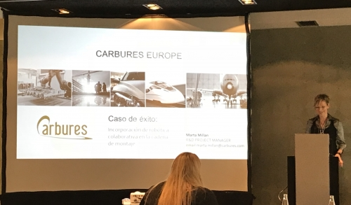Carbures presents its collaborative robots at the IKN event about Industry 4.0