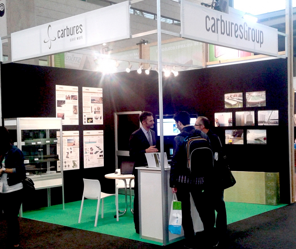 Carbures is present in Construmat