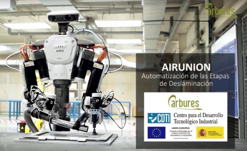 Carbures presents the new robot: AIRUNION