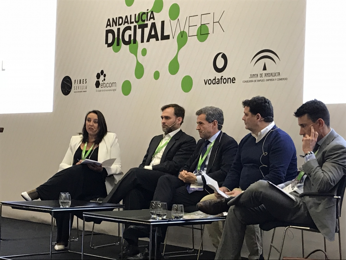 Carbures explained its technology at the main digital conference in Andalusia