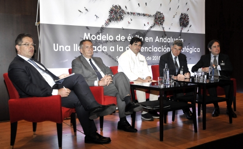 Carbures explained its success model in a conference by ADP and Deloitte