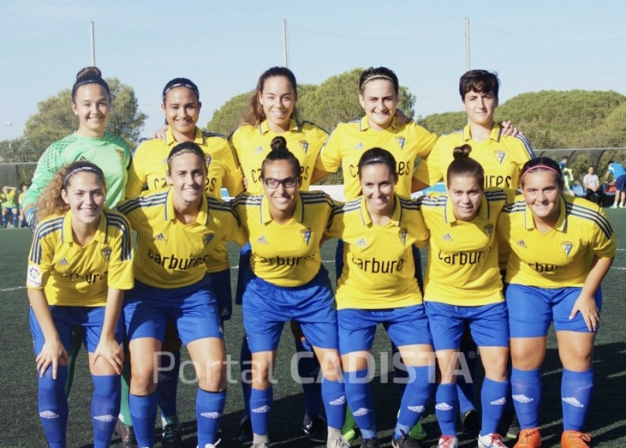 Carbures congratulates to the CADIZ CF female team