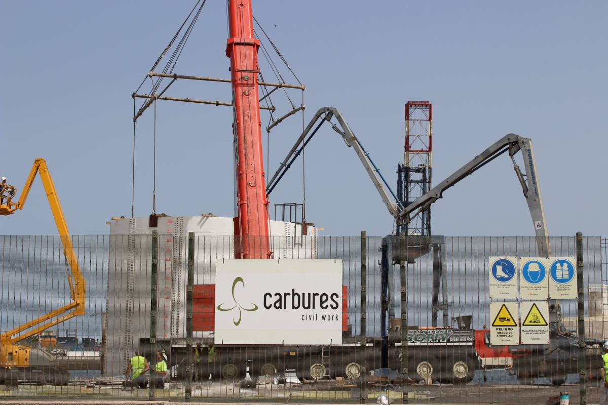 Carbures presents its composite technology for civil works