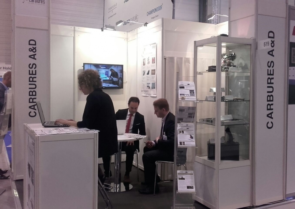 Carbures shows its industrial strength in the ILA Berlin