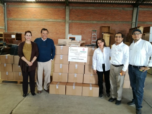 Carbures Civil Works donates luminaires to the State of Guanajuato in Mexico