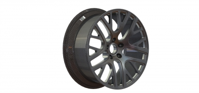 Speeding up in automotive with carbon rims